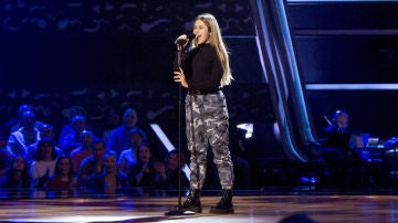 Julia Gonçalves canta 'Something's got a hold on me' en las Audiciones a ciegas de 'La Voz Kids'