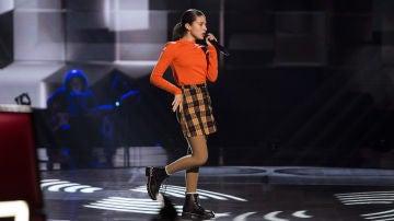 Irene Gil canta 'Mamma knows best' en las Audiciones a ciegas de 'La Voz Kids'