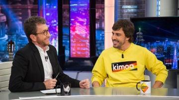 La ambigua respuesta de Fernando Alonso en 'El Hormiguero 3.0' sobre su participación en el Dakar