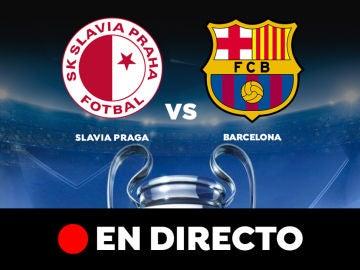 Champions League: Slavia Praga - Barcelona, en directo