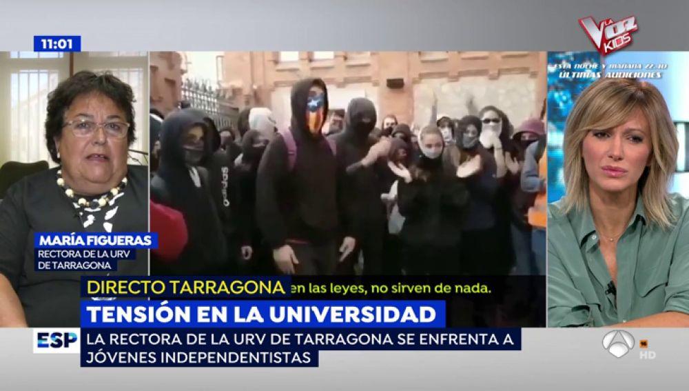 Tensión en la Universidad.