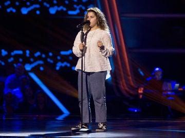 Actuación Claudia Saura 'Havana' en las Audiciones a ciegas de 'La Voz Kids'