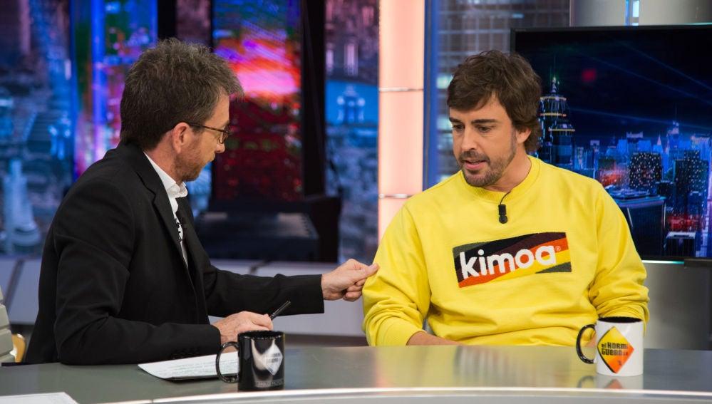 """Fernando Alonso, en 'El Hormiguero 3.0': """"No he echado nada de menos la Fórmula 1"""""""