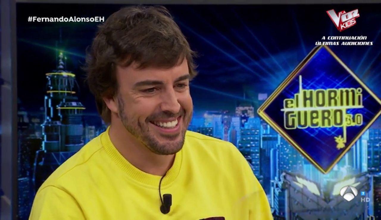 Fernando Alonso, en 'El Hormiguero 3.0'