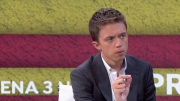Íñigo Errejón en Antena 3 Noticias