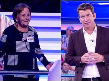 Arturo Valls y Palmira Gogó desmienten en '¡Ahora caigo!' un escandaloso rumor