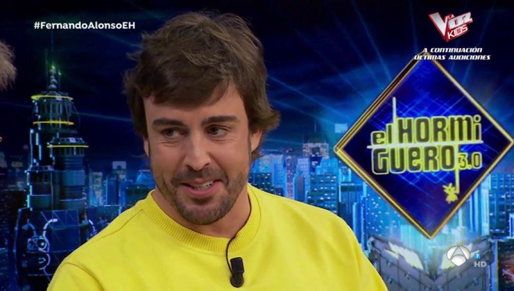 """Fernando Alonso habla en 'El Hormiguero 3.0' sobre su vuelta a la F1: """"En verano del año que viene..."""""""