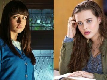 Ana de Armas en 'El Internado' y Katherine Langford en 'Por 13 razones'