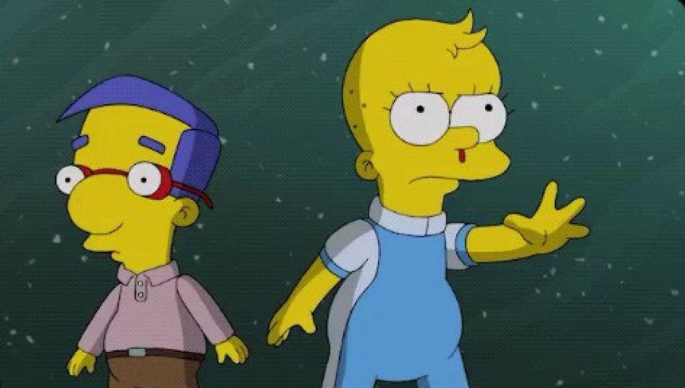 Lisa como Eleven en 'Los Simpson'