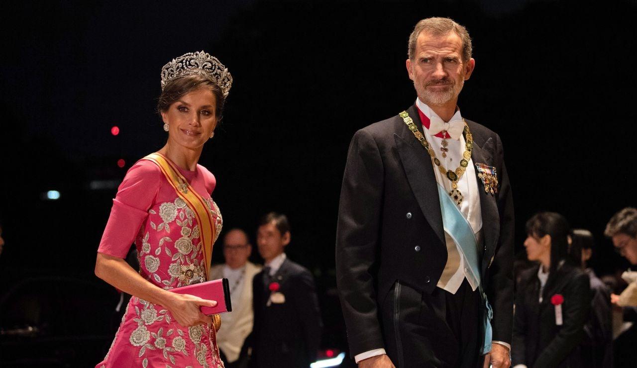 Los Reyes de España Felipe y Letizia