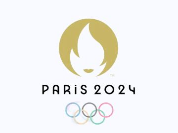 El logo de los Juegos Olímpicos de París 2024