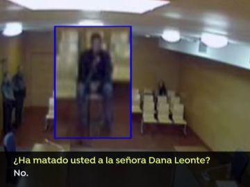 Sergio Ruiz explicó ante la jueza la razón por la que apareció sangre de Dana Leonte en el domicilio