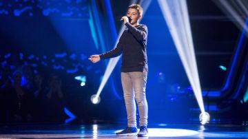 Maksym Pashnyk canta 'Funiculì funiculà' en las Audiciones a ciegas de 'La Voz Kids'