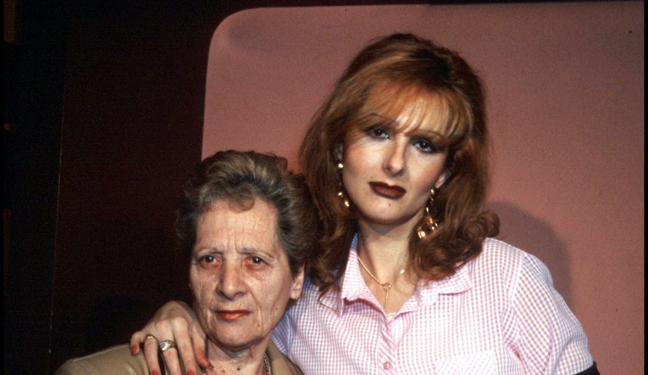 Margarita Seisdedos y su hija Yurena
