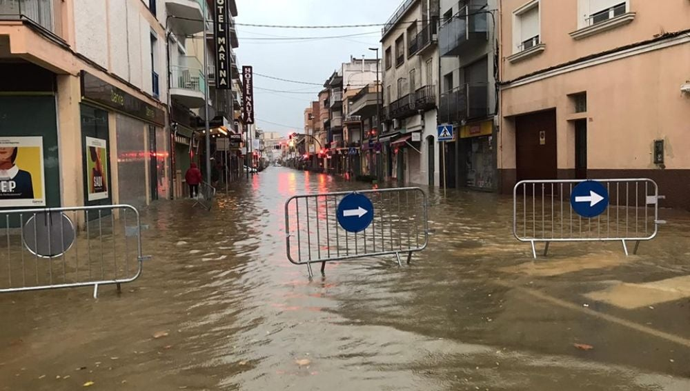 Inundaciones en Palamós por la DANA