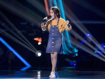 Rocío Carrasco canta 'Válgame Dios' en las Audiciones a ciegas de 'La Voz Kids'