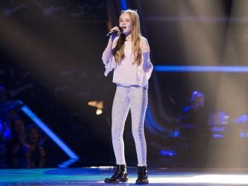 Actuación Alicia Pétina 'Memory' en las Audiciones a ciegas de 'La Voz Kids'