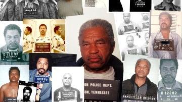 'Collage' de fotografías del asesino en serie Samuel Little