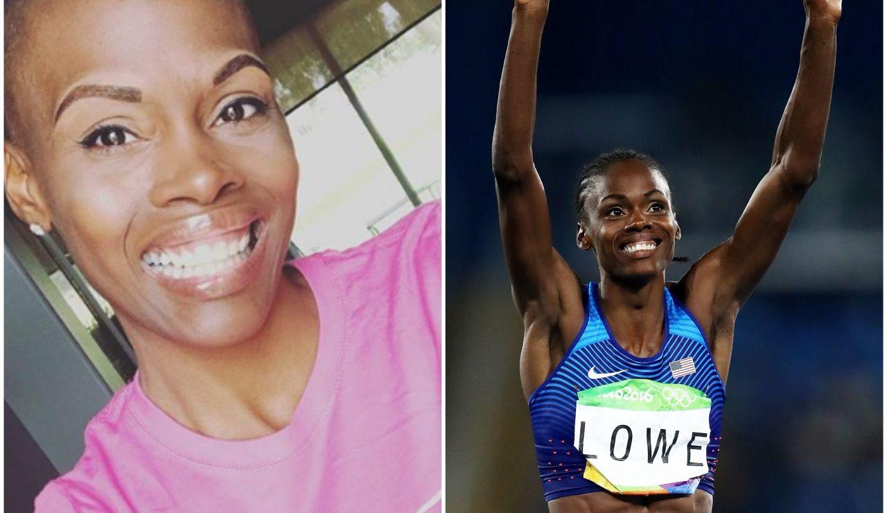 Chaunté Lowe, atleta olímpica estadounidense
