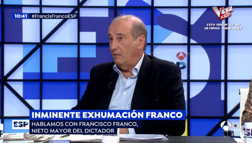 Entrevista a Francisco Franco.