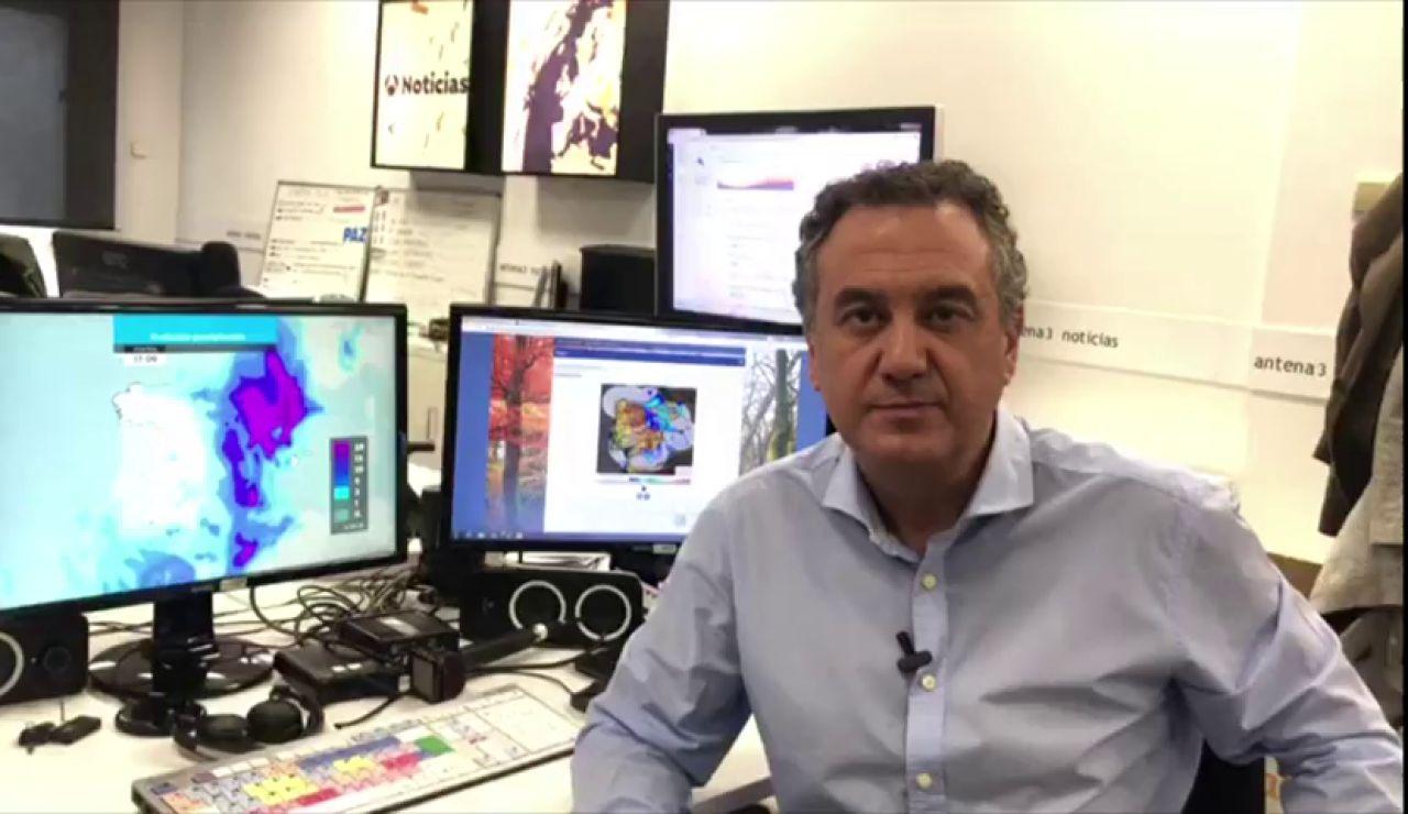 """Roberto Brasero: """"No hay que bajar la guardia aunque la DANA no esté dejando registros tan importantes"""""""