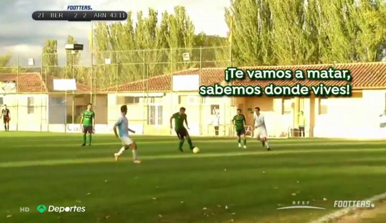"""Los intolerables insultos machistas a una asistente en un partido de tercera en La Rioja: """"Las mujeres no servís para nada..."""""""
