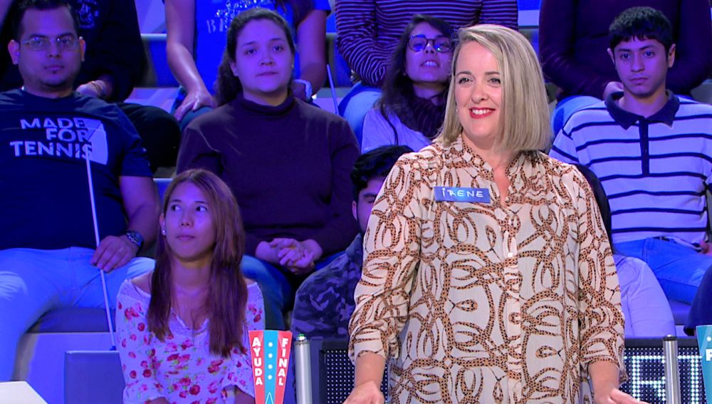 """""""En diez segundos has hecho más que en todo el programa"""", la increíble jugada de Irene en 'La ruleta de la suerte'"""