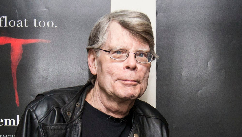 El escritor Stephen King