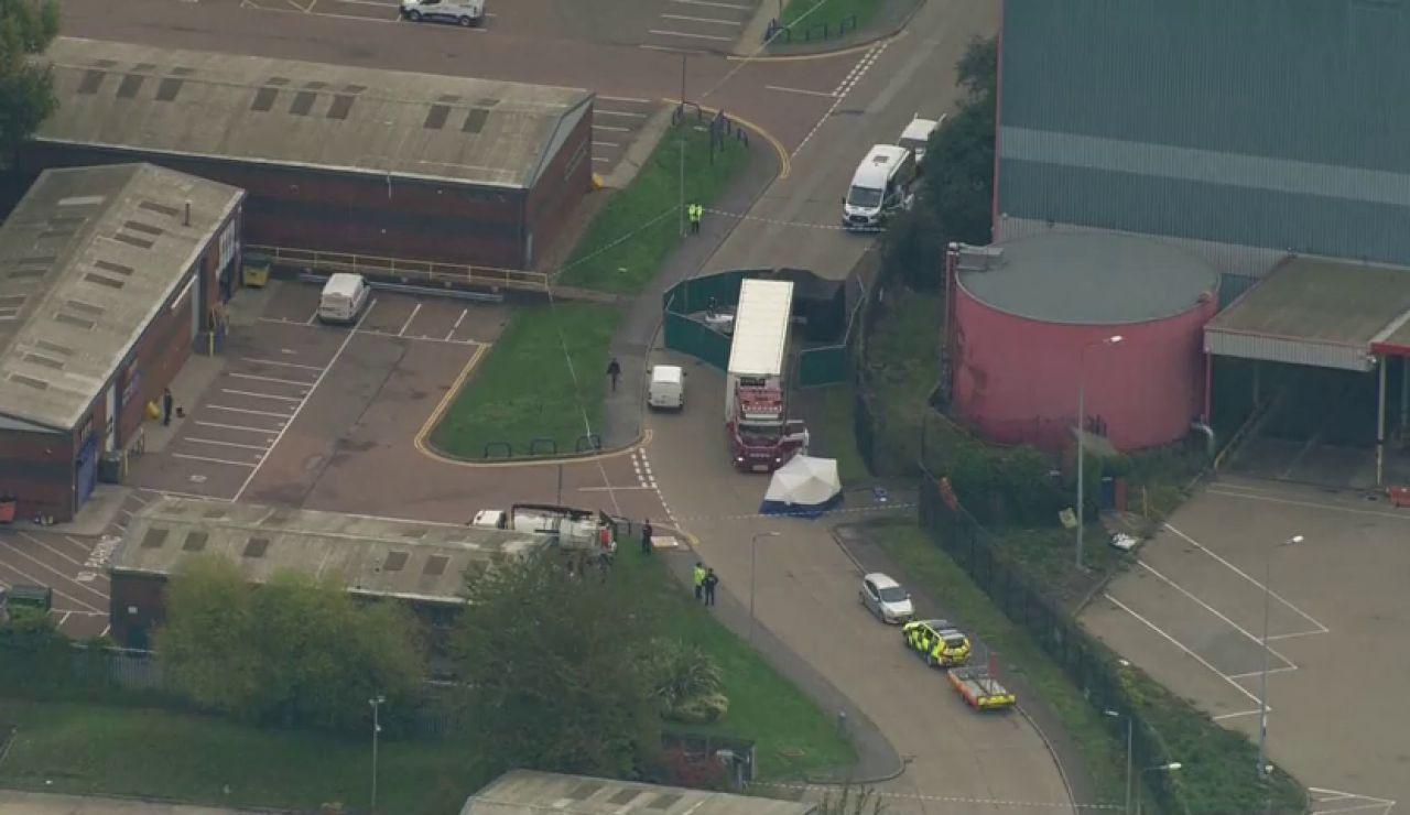 Detenido en Essex un hombre que transportaba en su camión 39 cadáveres
