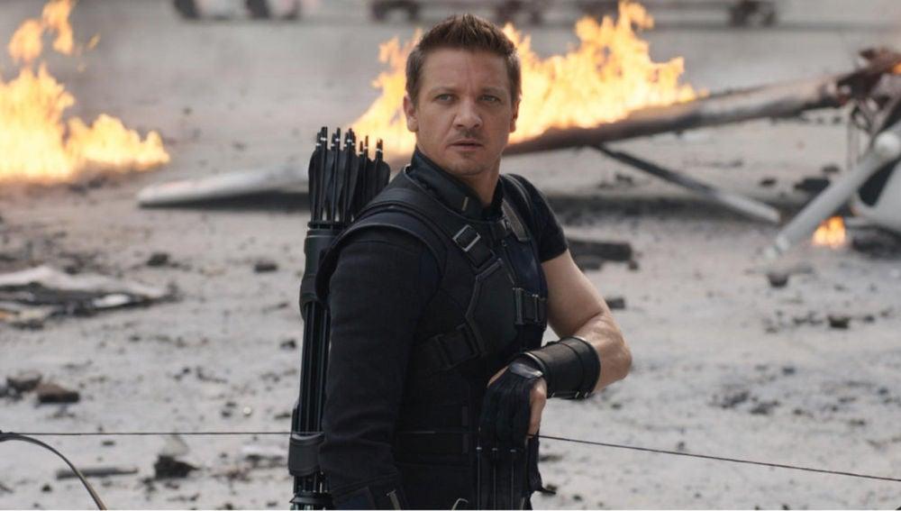 Jeremy Renner como Hawkeye (Ojo de Halcón)