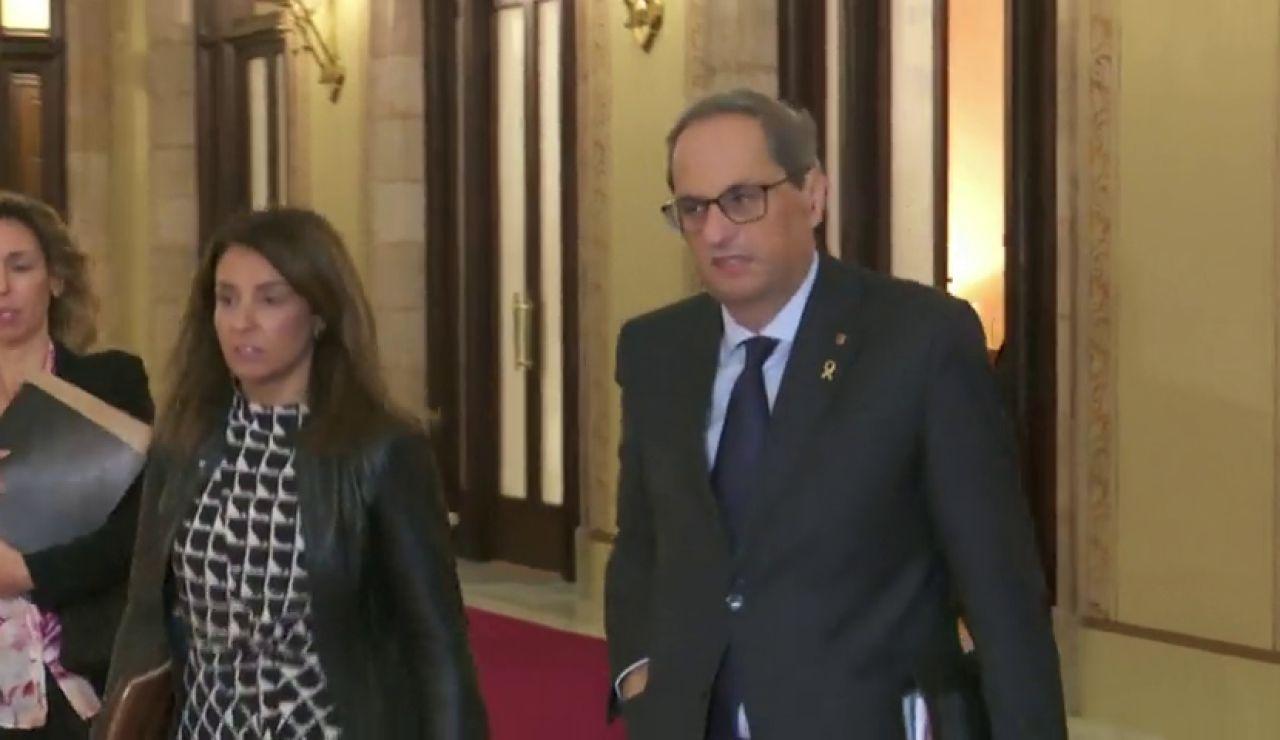 Quim Torra dice que estará muy atento a las investigaciones sobre posibles excesos de los Mossos