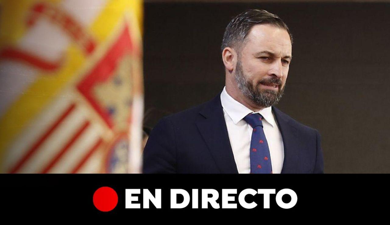 Elecciones generales 2019: Entrevista a Santiago Abascal, en directo