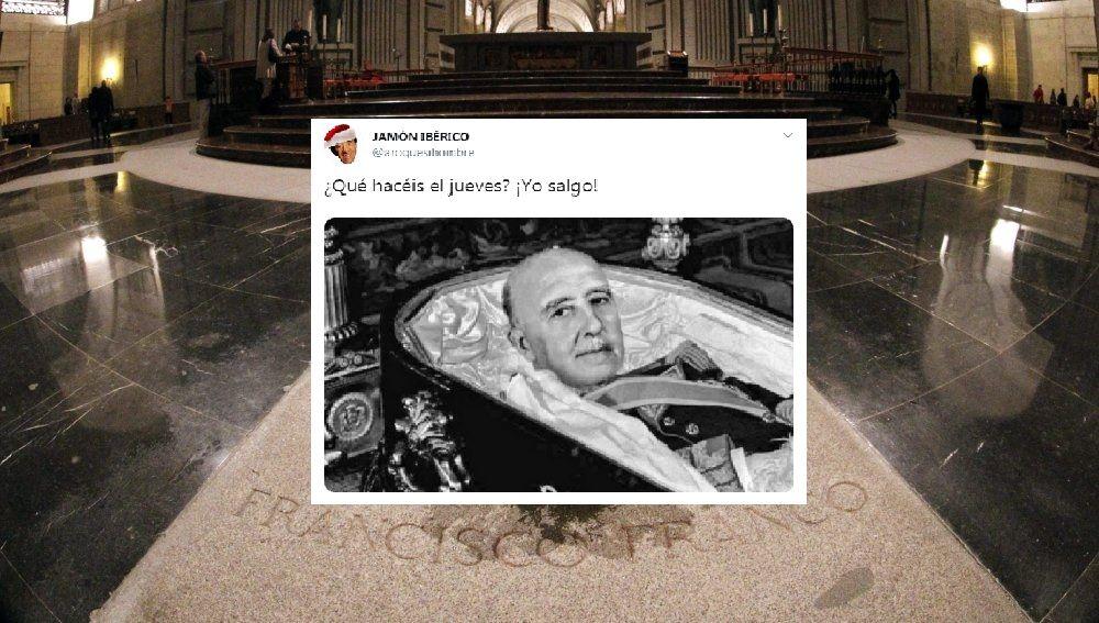Exhumación Franco: Memes de Franco