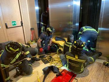 Los bomberos en el rescate