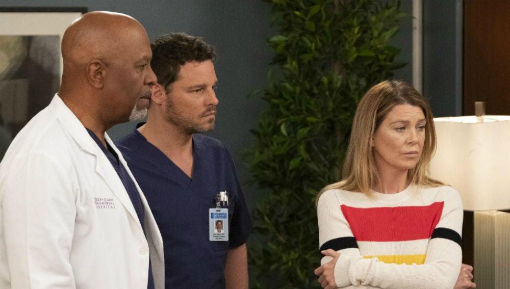 Webber, Karev y Meredith son despedidos en 'Anatomía de Grey'