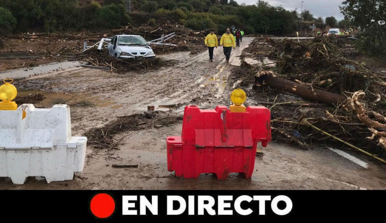 DANA: Última hora de Cataluña y las lluvias de hoy, en directo
