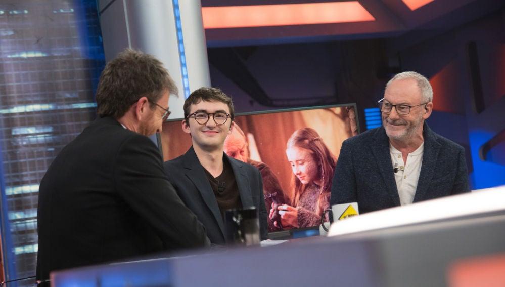 ¿Cómo fue el último día de rodaje de Juego de Tronos? ¡Los actores de la serie lo cuentan en 'El Hormiguero 3.0'!