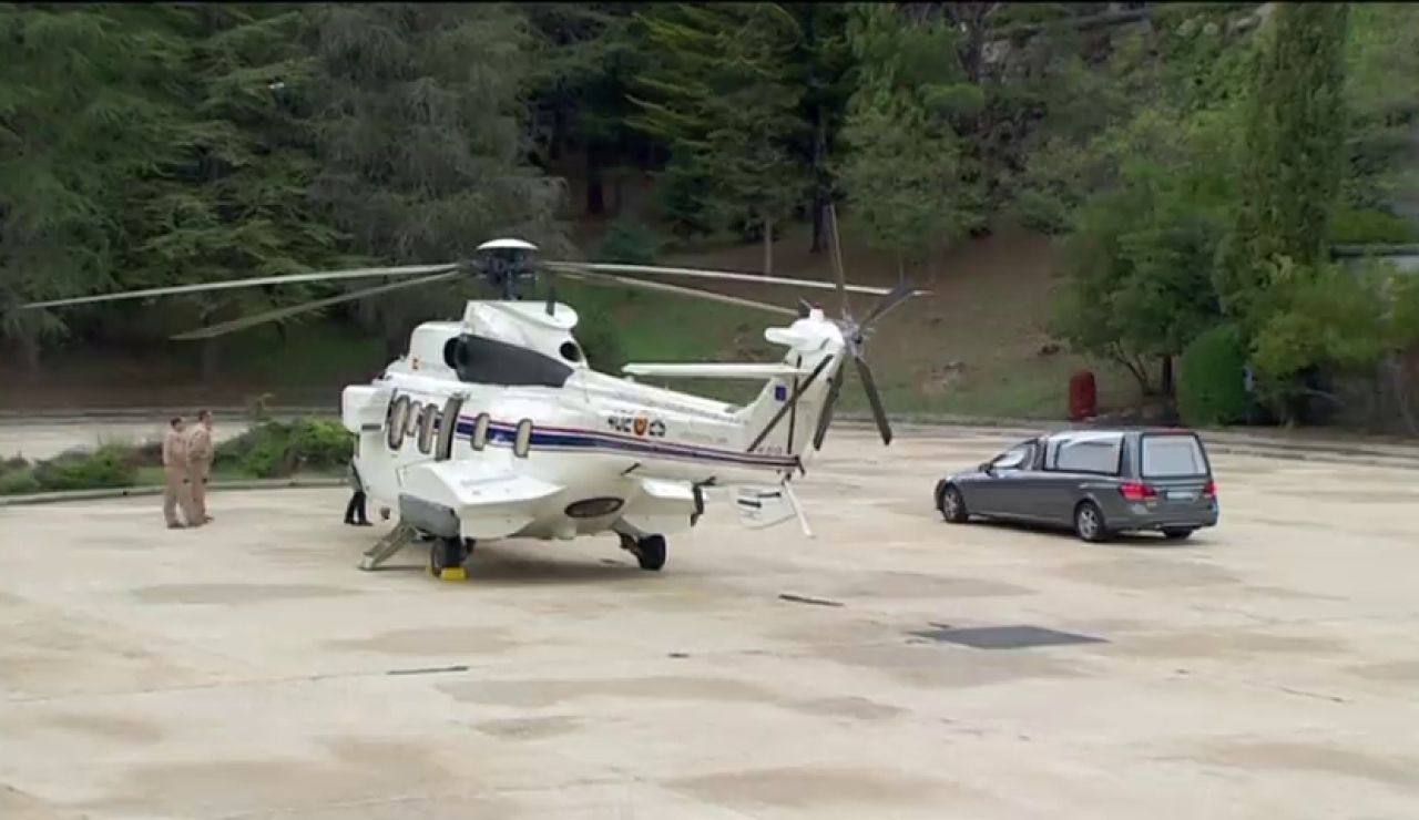 El traslado en helicóptero, principal duda de la inhumación de Franco