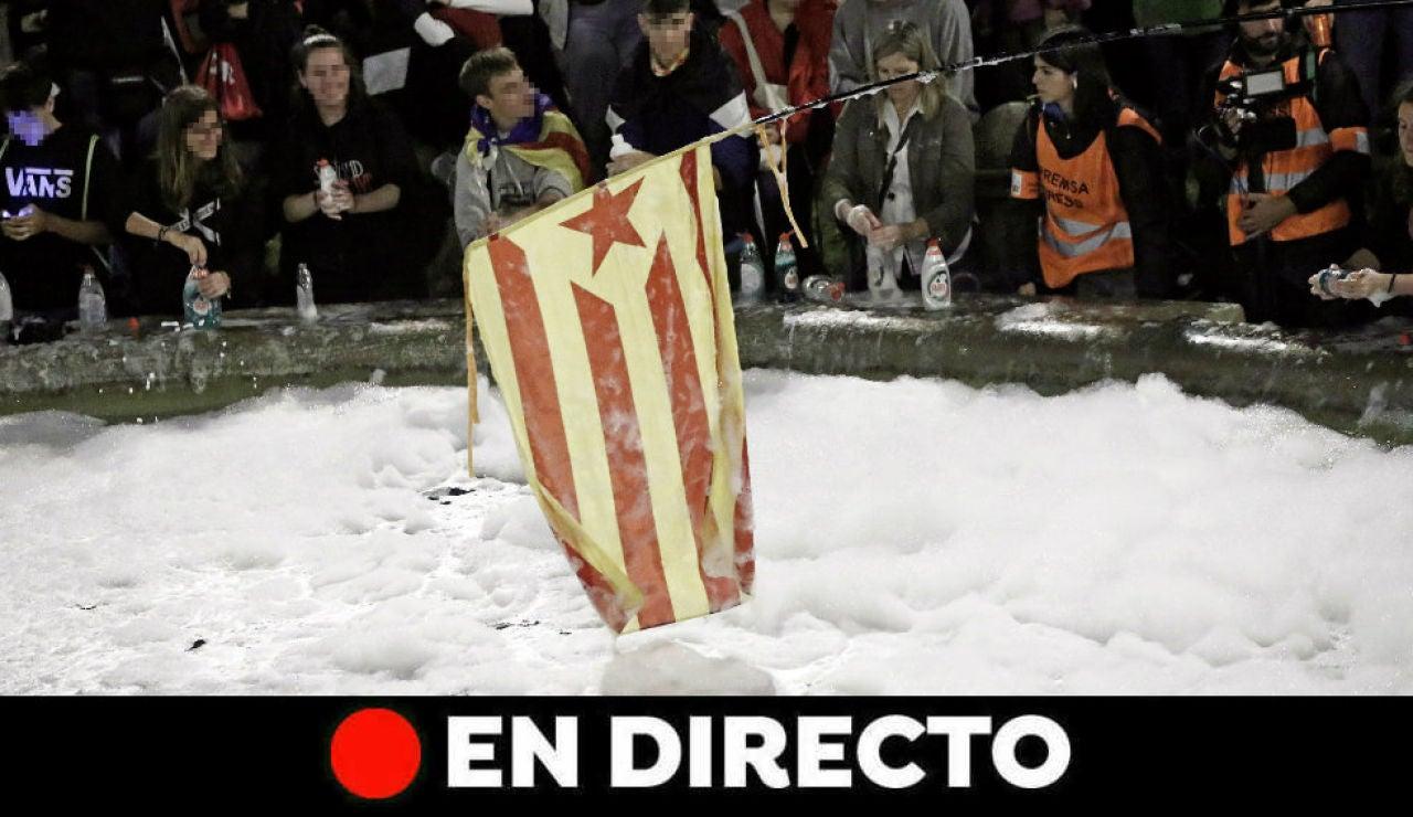 Cataluña: Última hora de Catauña y Barcelona tras la sentencia del procés, en directo