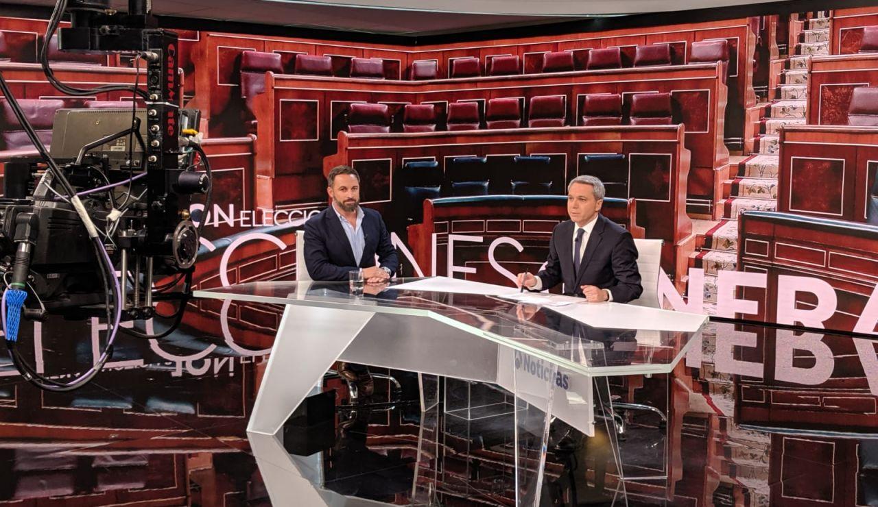 Santiago Abascal en Antena 3