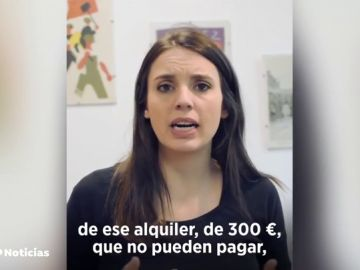REEMPLAZO Duras críticas a Irene Montero por difundir el nombre de una mujer que ha subido el alquiler a una pareja