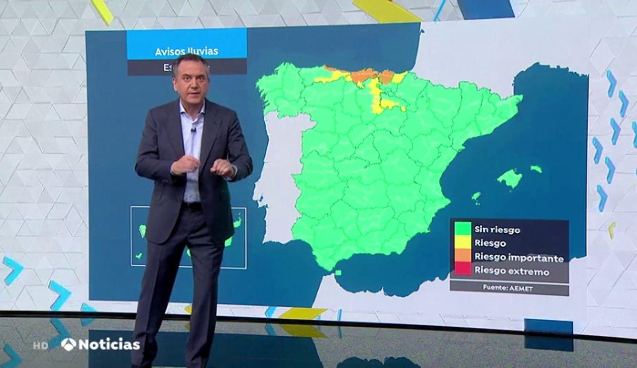 El fuerte temporal de lluvias abandona Cataluña y se dirige al Cantábrico, pero remitirá a partir del jueves