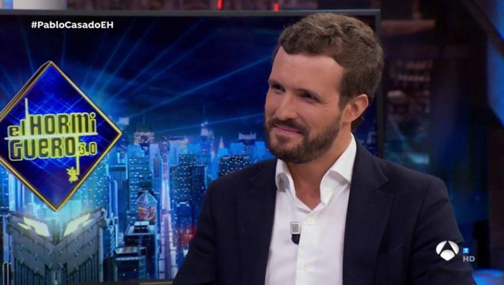 """Casado, en 'El Hormiguero': """"Si Sánchez tenía cuatro posibilidades para formar gobierno y no lo hizo, ¿por qué lo va a hacer ahora?"""""""