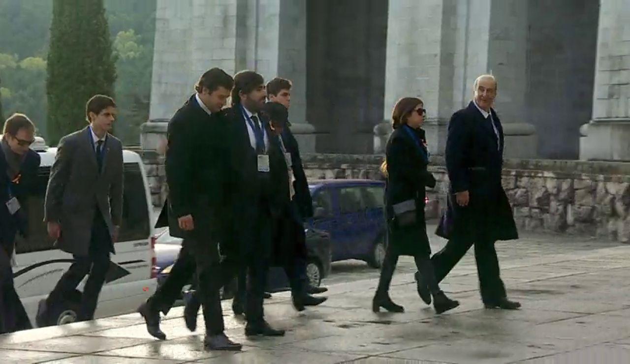 REEMPLAZO: Exhumación de Franco: la familia llega al Valle de los Caídos