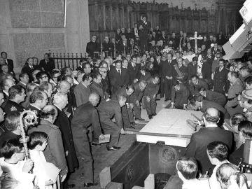 El entierro del dictador Francisco Franco