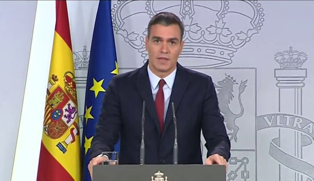 """Pedro Sánchez: """"España cumple consigo misma"""""""