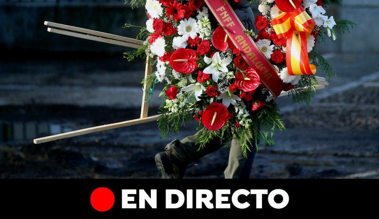 La exhumación de Franco del Valle de los Caídos: Última hora, en directo