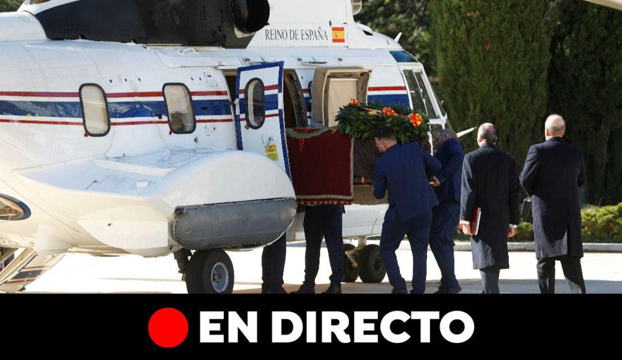 Exhumación de Franco en el Valle de los Caídos e inhumación en Mingorrubio, última hora en directo