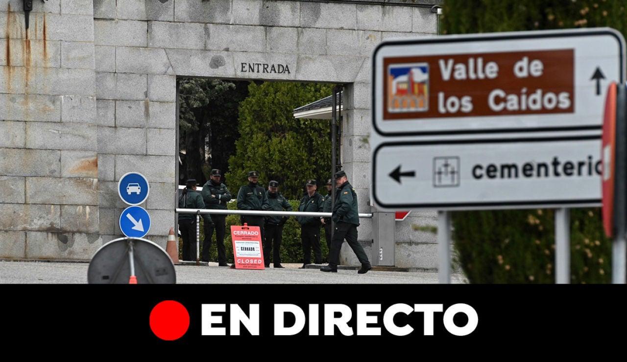 Exhumación de Franco: Última hora en directo