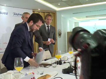 La Generalitat insiste en el diálogo, pero sobre amnistía y autodeterminación
